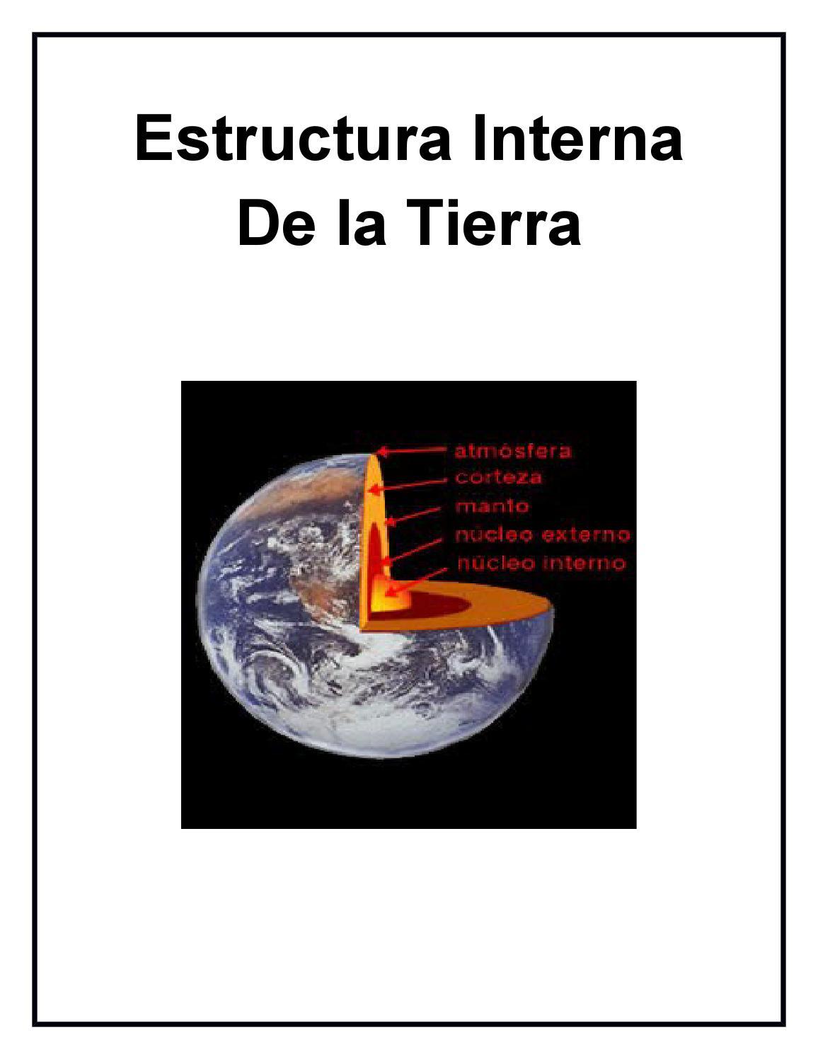 Estructura Interna De La Tierra 1 By Gipava Issuu