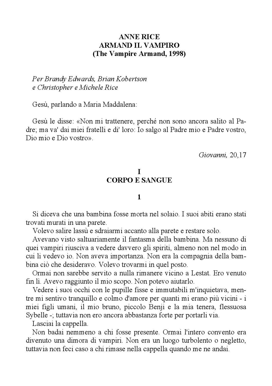 Armand il Vampiro by Vibrazioni Lucane - issuu 60b8dc80c3e