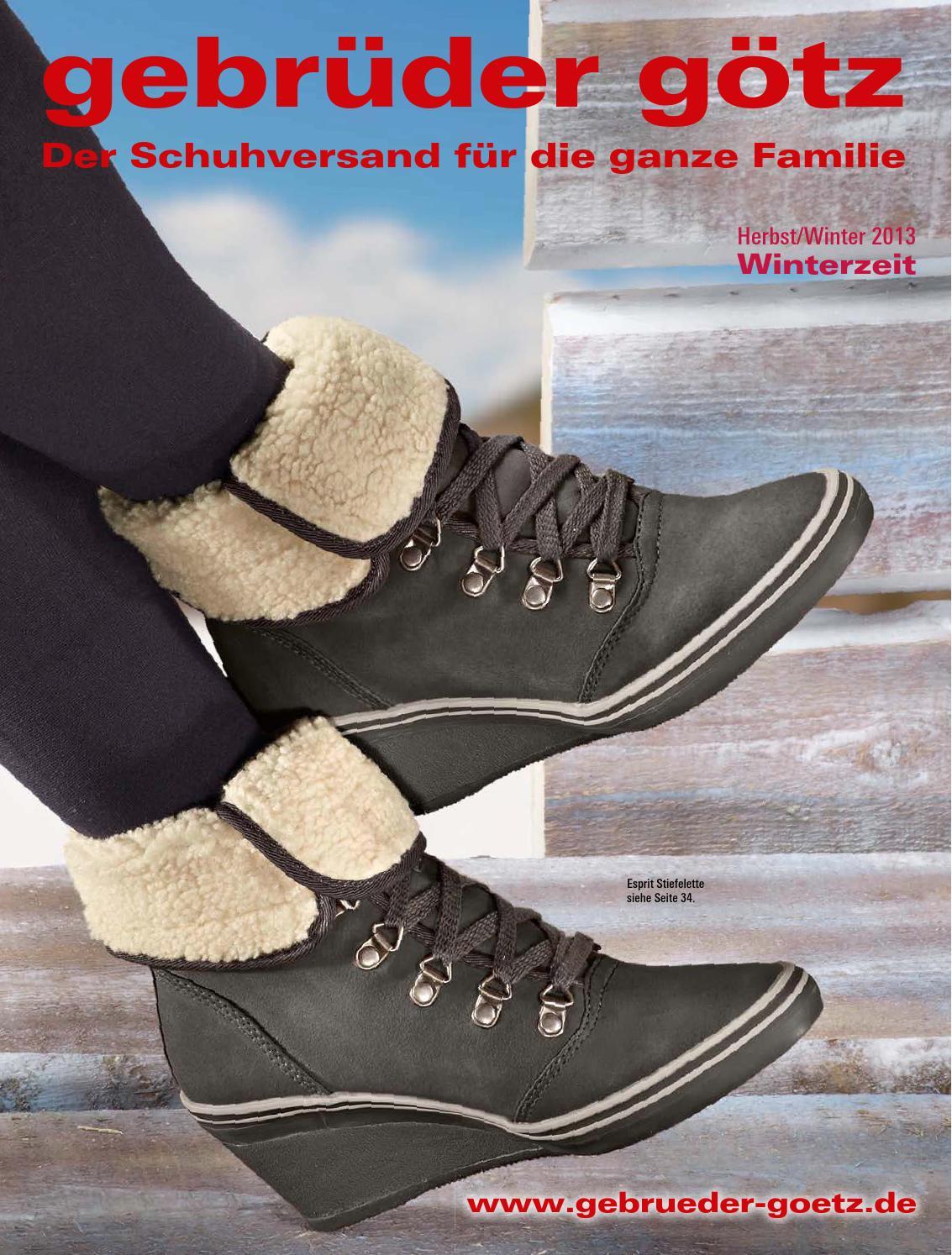 Каталог Gebruder Gotz осень зима 20132014. Заказ обуви на