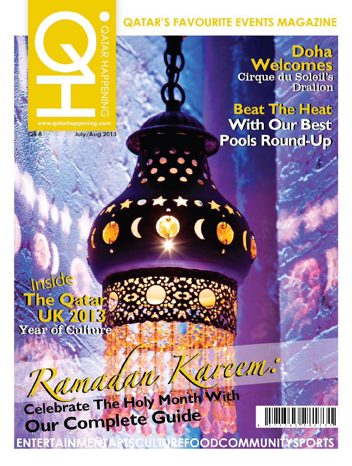 424d68f128c99 Qatar Happening - July   August 2013 by Qatar Happening - issuu