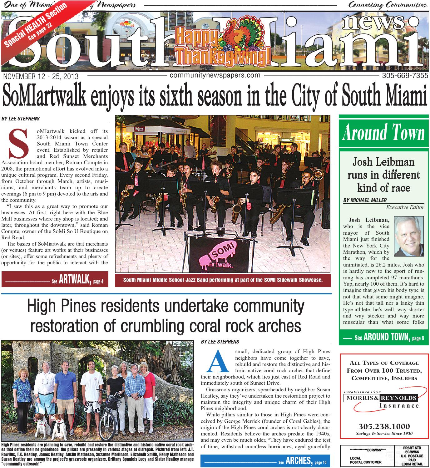 South Miami News 11 12 2013 by Community Newspapers - issuu