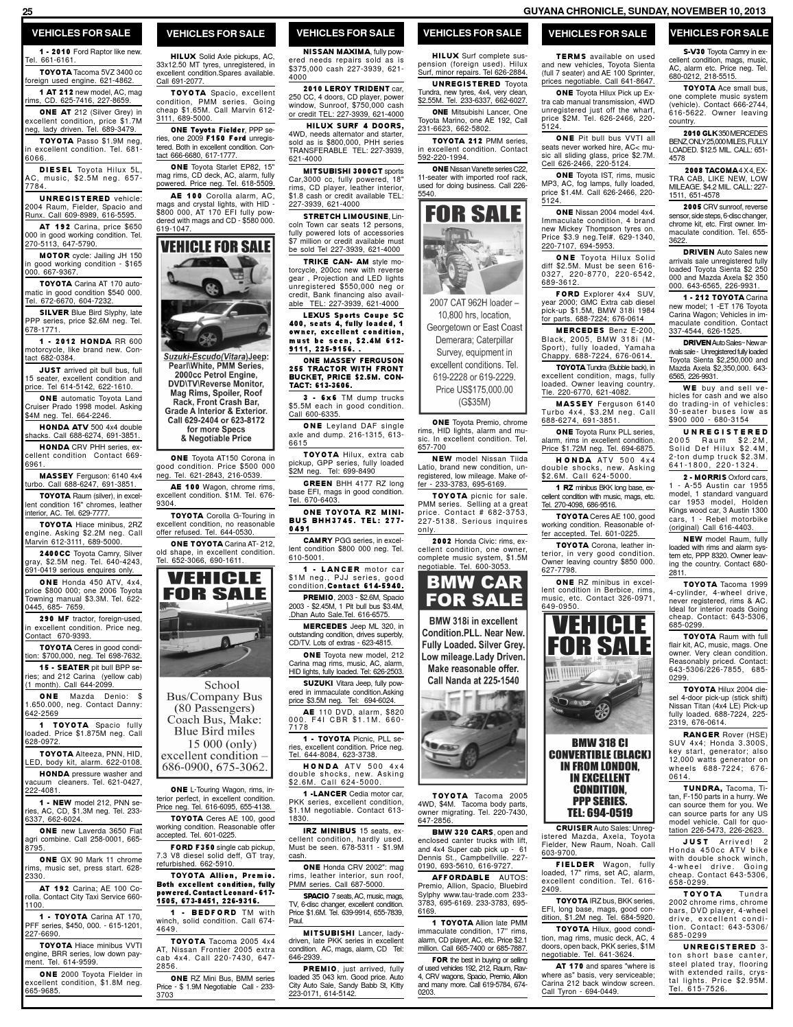 Guyana chronicle november 10 2013 by Chronicle - issuu