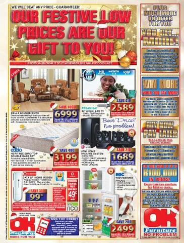 Ok Furniture International Catalogues Botswana Validity 26th August