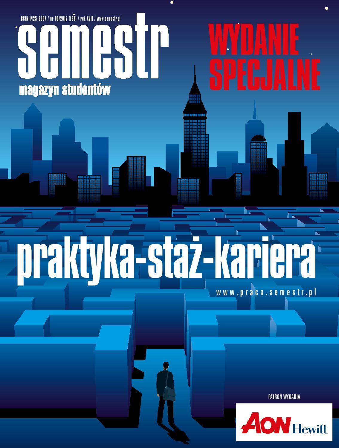 Magazyn Semestr Wydanie Wiosna 2012 By Magazyn Semestr Issuu