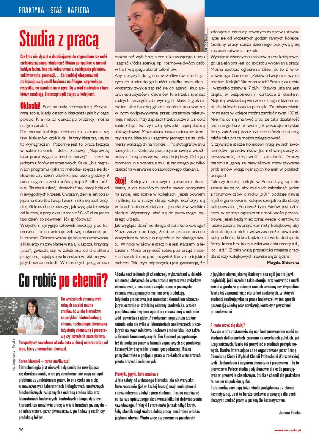 769062bd1e Magazyn Semestr Wydanie Jesień 2012 by Magazyn SEMESTR - issuu