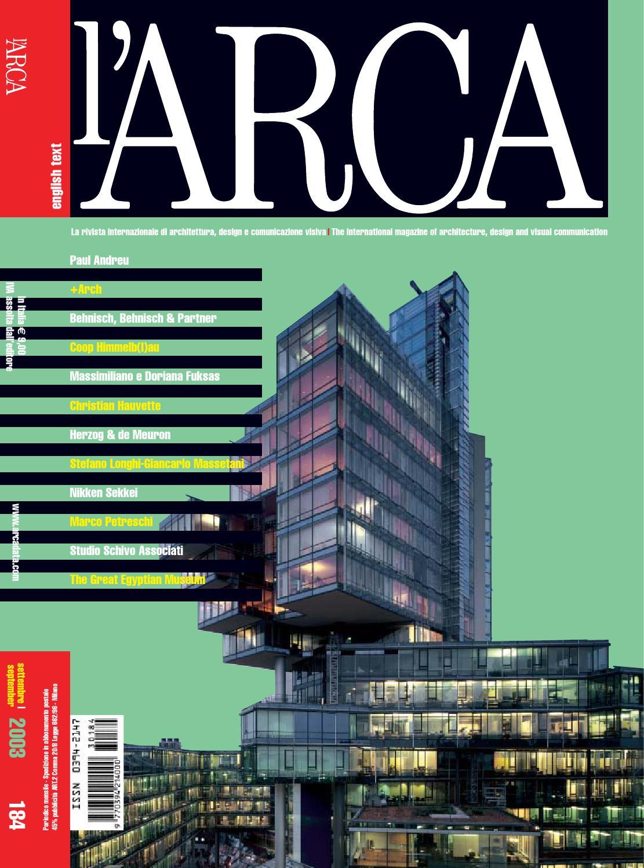 hot sale online 77dc1 39cd3 Arca 184 by Colibri - issuu