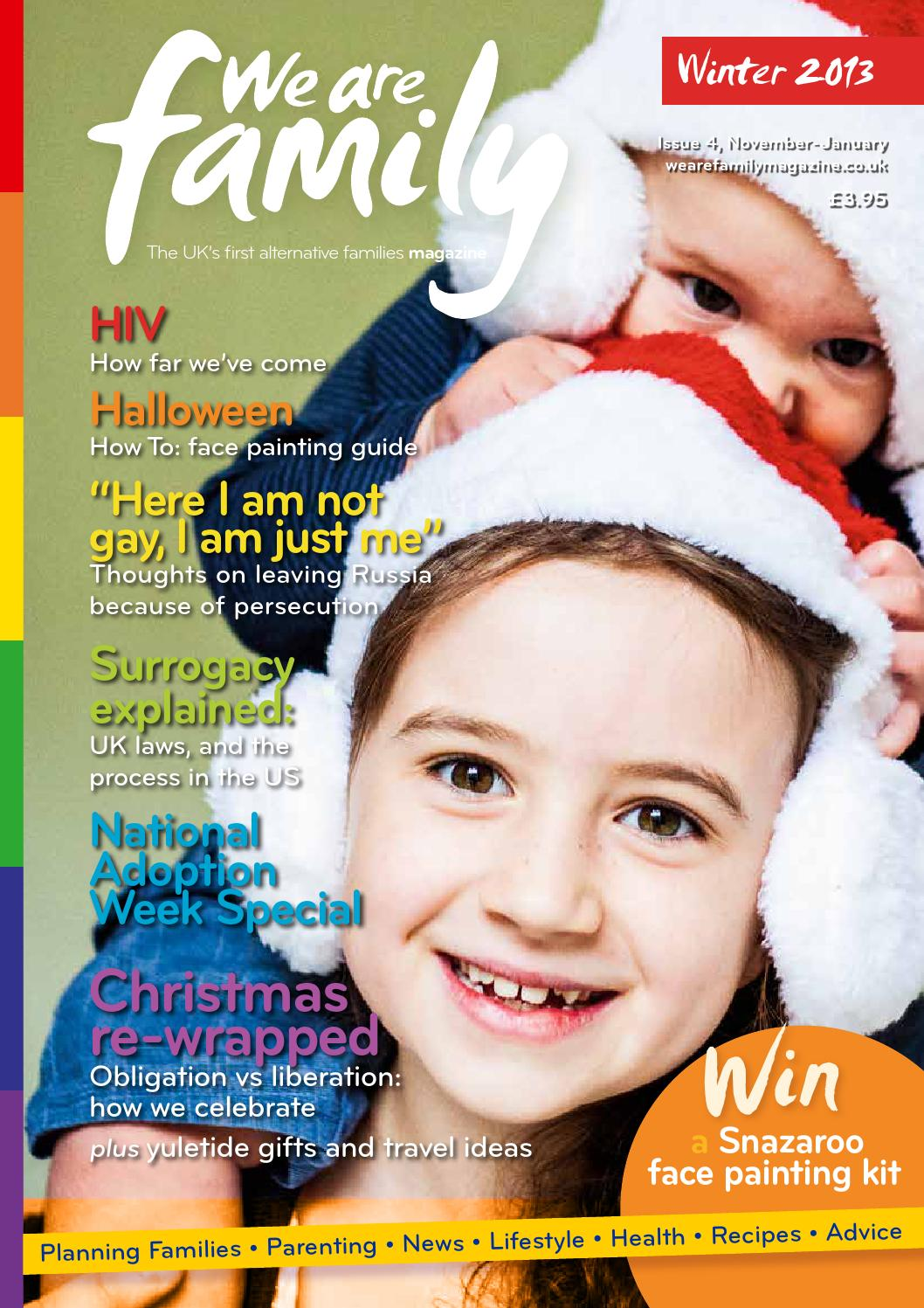 We Are Family Magazine, issue 4 Winter 2013