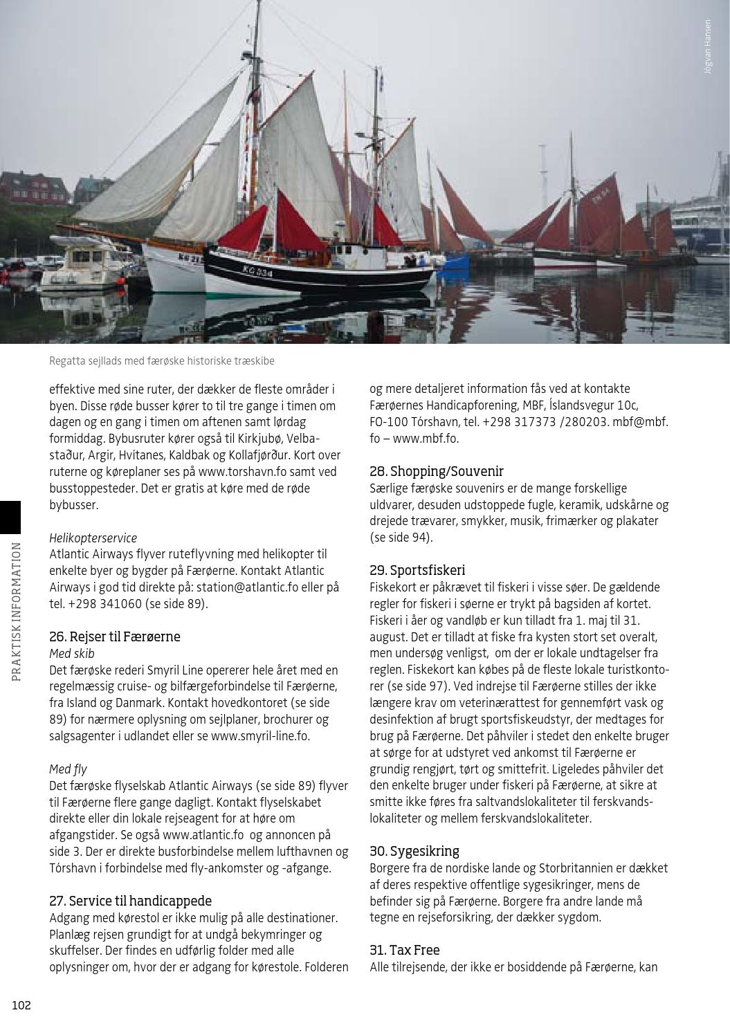 Faeroernes Turist Guide 2014 By Sansir A S Issuu