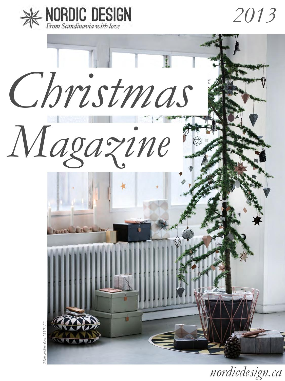 Nordic Design 2013 Christmas Magazine by Nordic Design - issuu