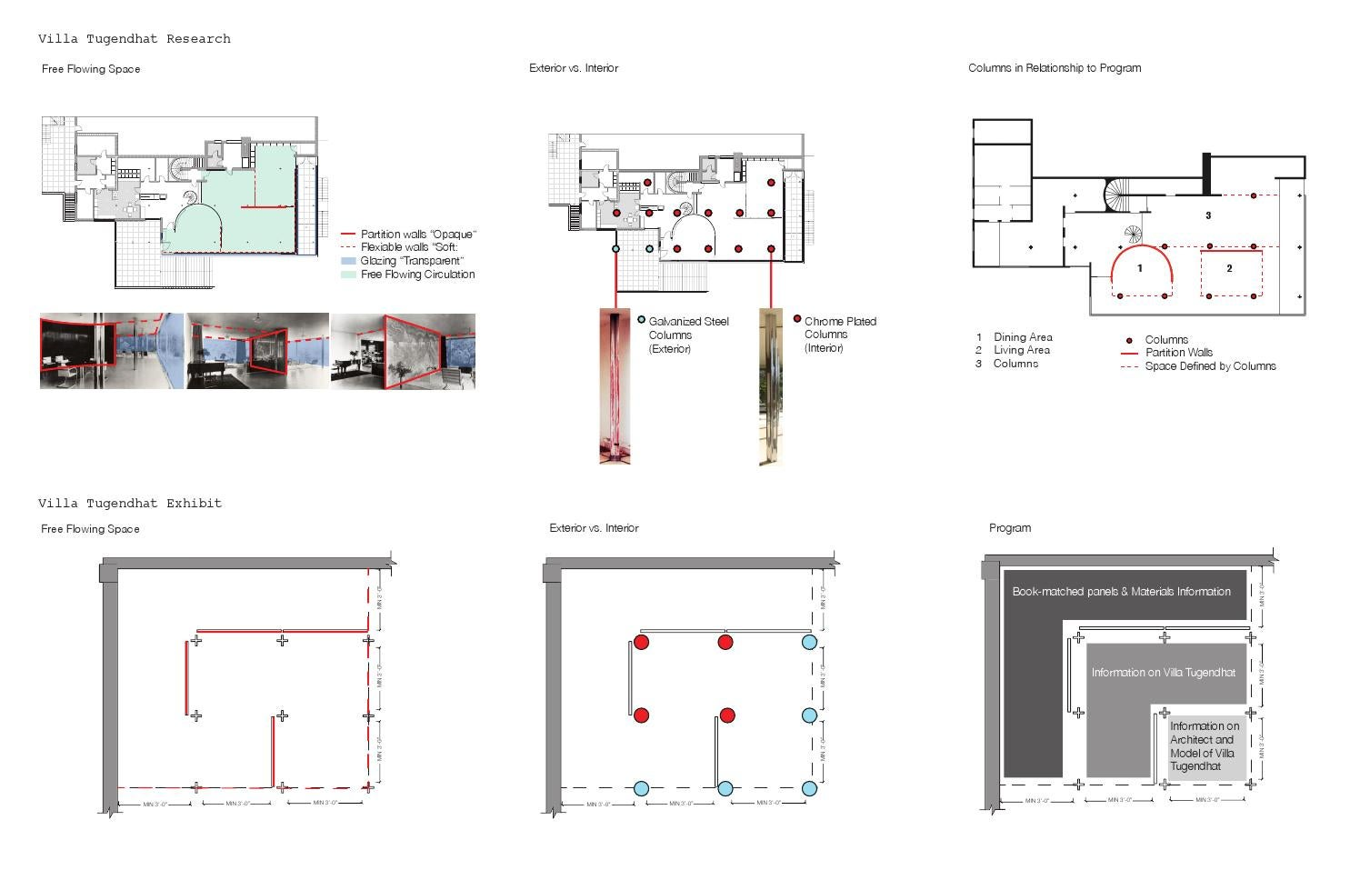 Exhibit villa tungendhat by nicki hwang issuu for The concept of space in mamluk architecture