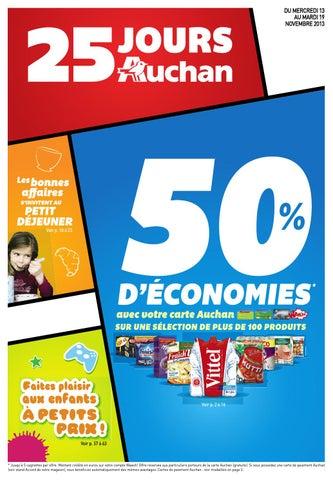 Carte Tnt Auchan.Catalogue Auchan 13 19 11 2013 By Joe Monroe Issuu