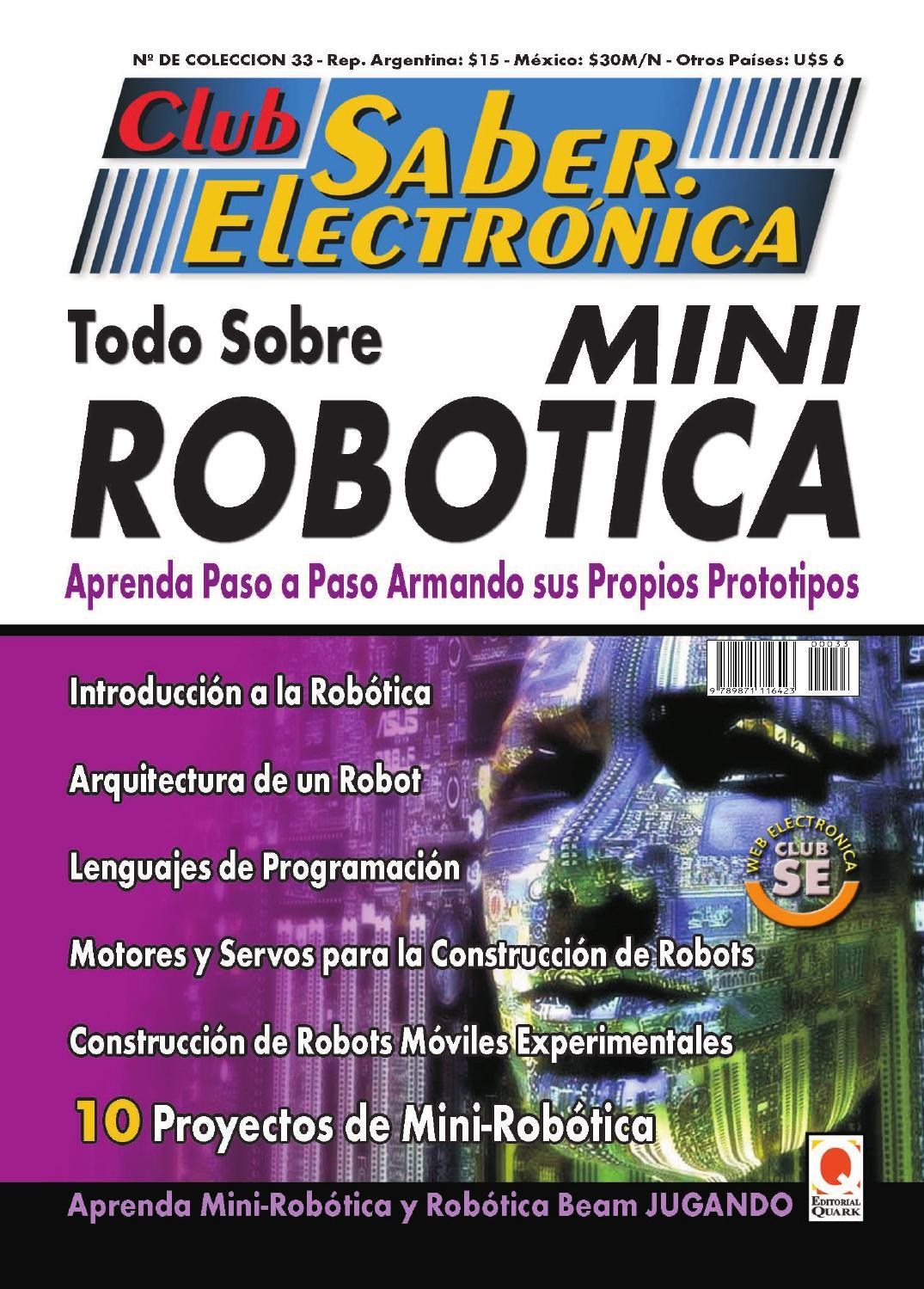 construcción de robots para aficionados pdf descargar gratis