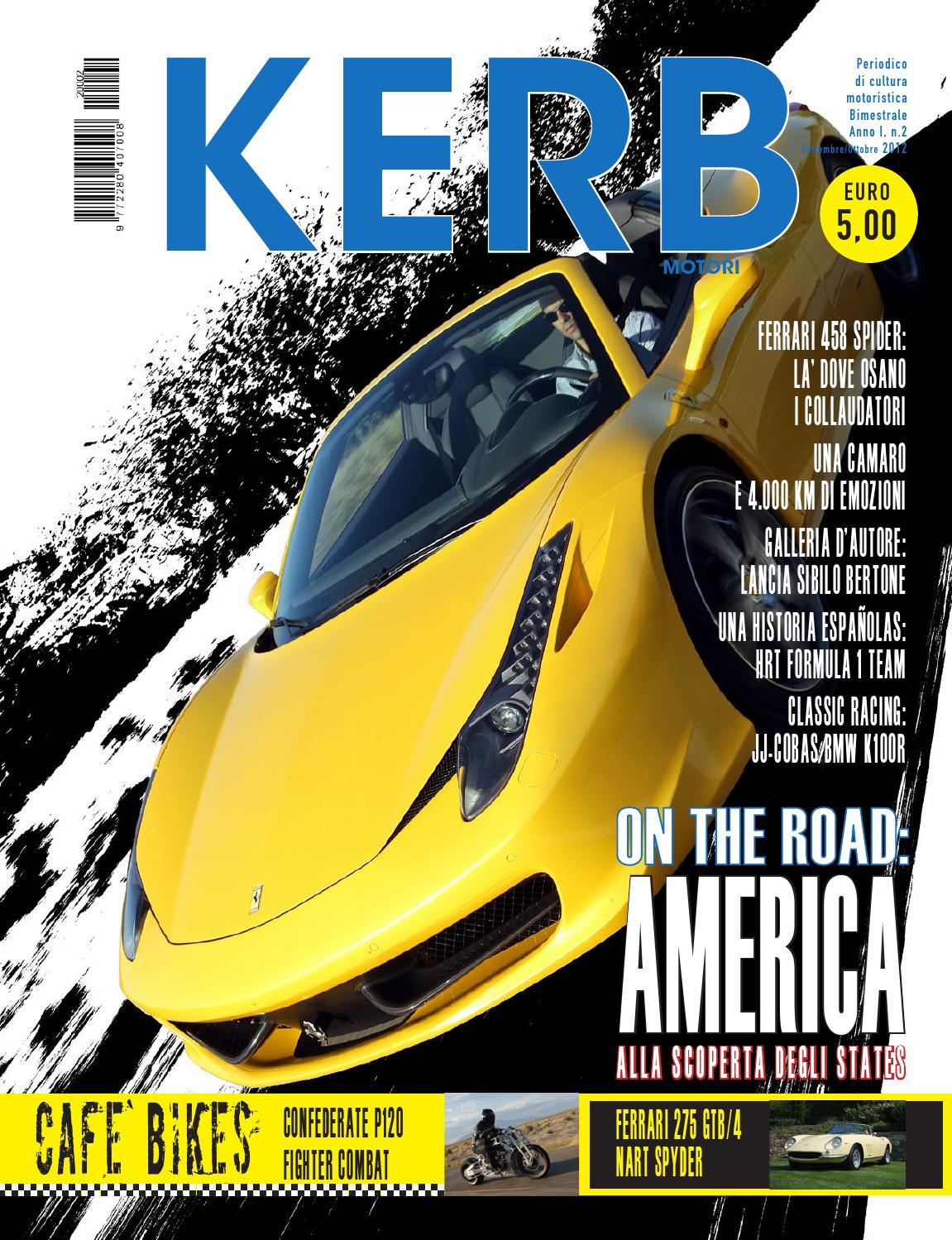 KERB MOTORI N.2-2012 (2) by KERB MOTORI - issuu 056b2b91ee36