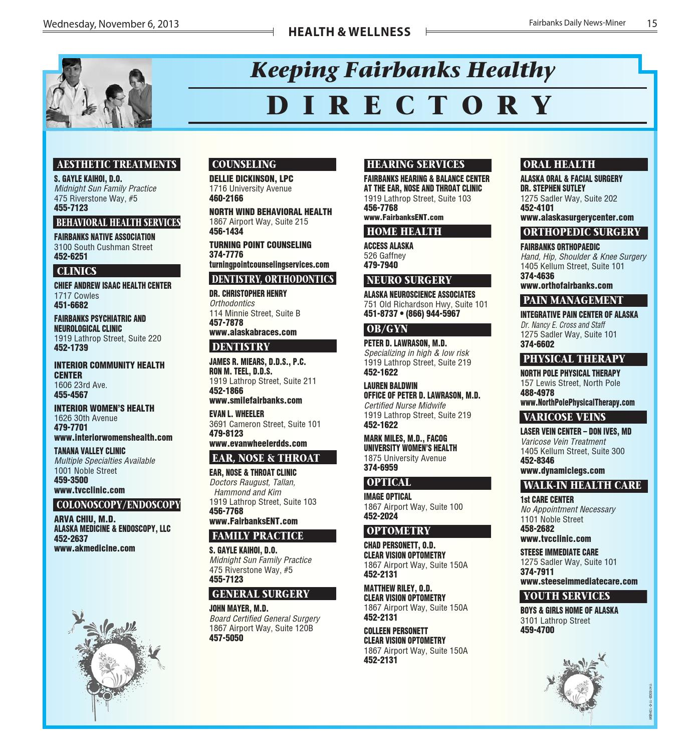 Health And Wellness Fall2013 By Fairbanks Daily News Miner Issuu
