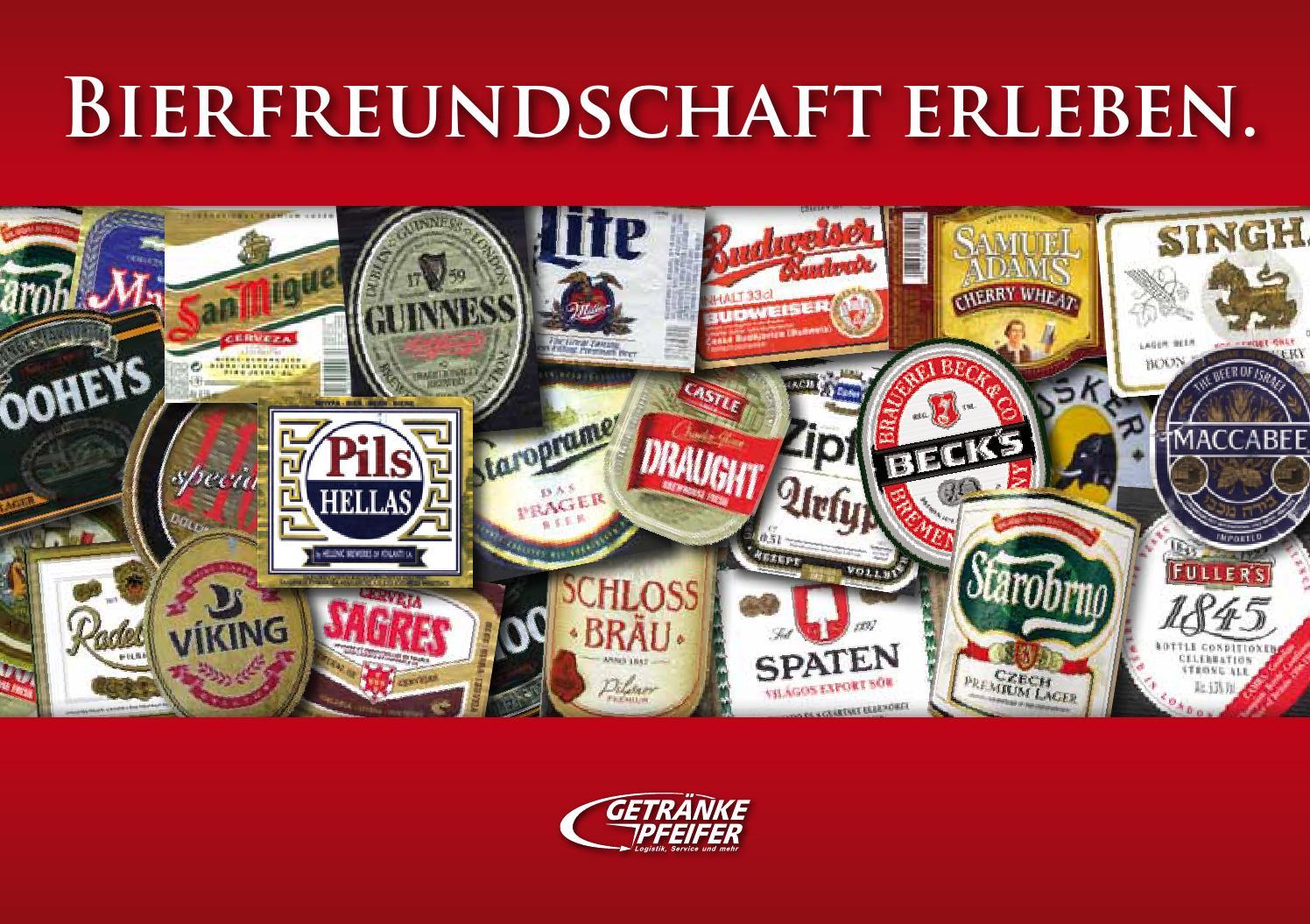 Bierfreundschaft erleben by Getränke Pfeifer GmbH - issuu