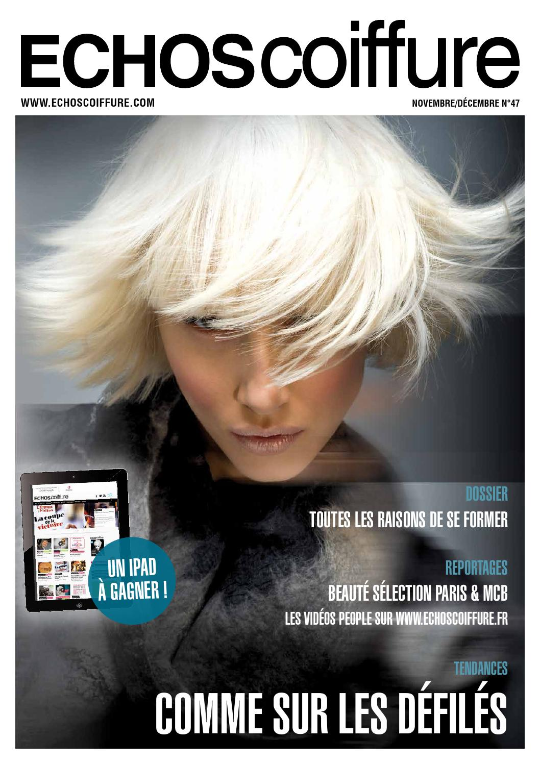 Echos Coiffure France n°47 by Eurobest Products - issuu 2cf0bf77977