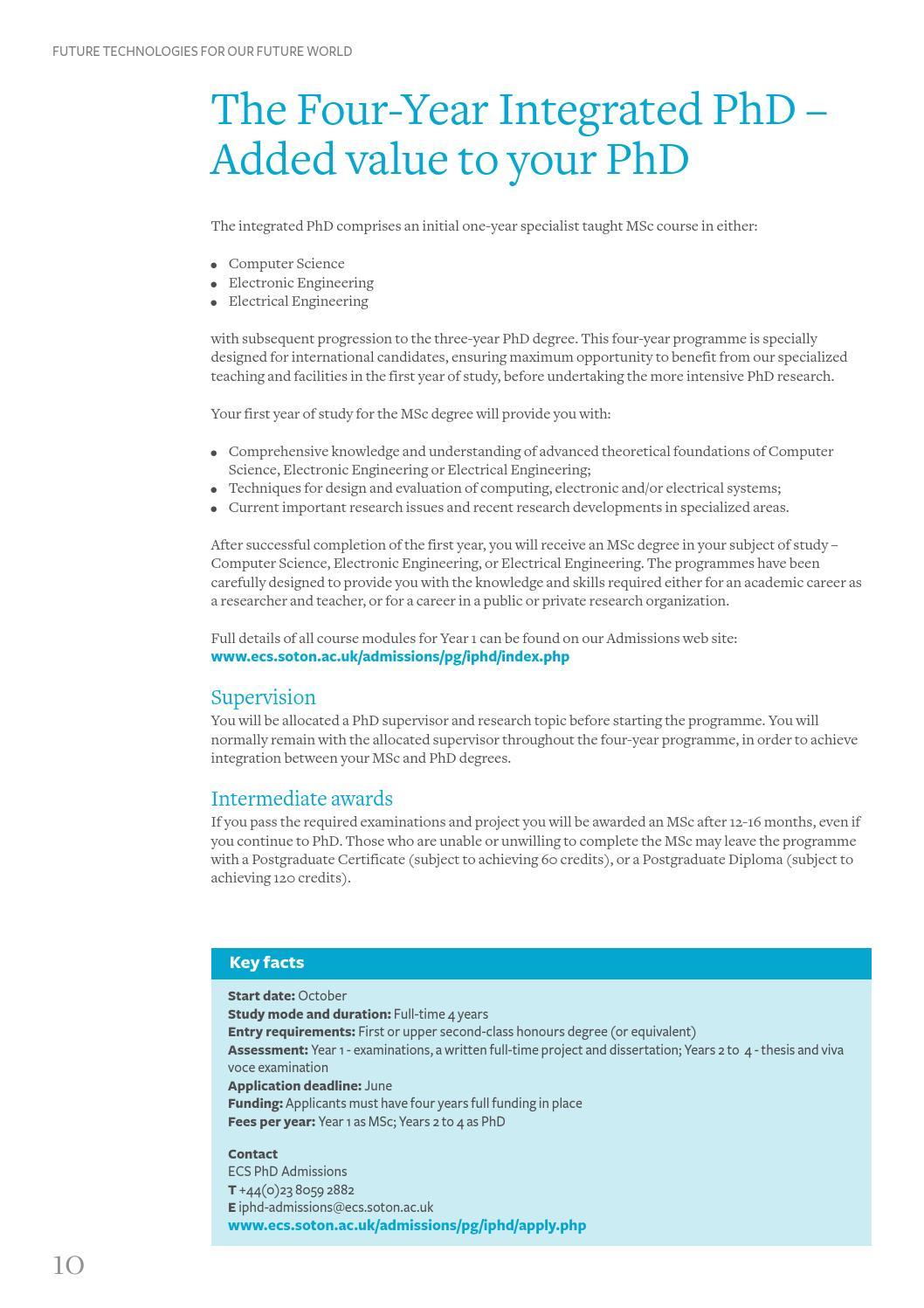 ECS Research Prospectus by University of Southampton - issuu