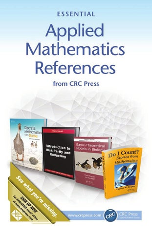 Applied mathematics references by crc press issuu page 1 fandeluxe Gallery