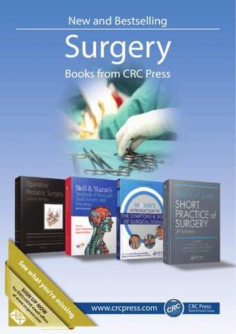 Surgery by crc press issuu page 1 new and bestselling surgery fandeluxe Images