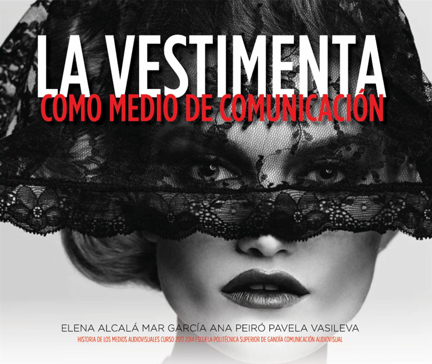 La vestimenta y portadas by Mar García Ribes - issuu 3bdbad85df5de