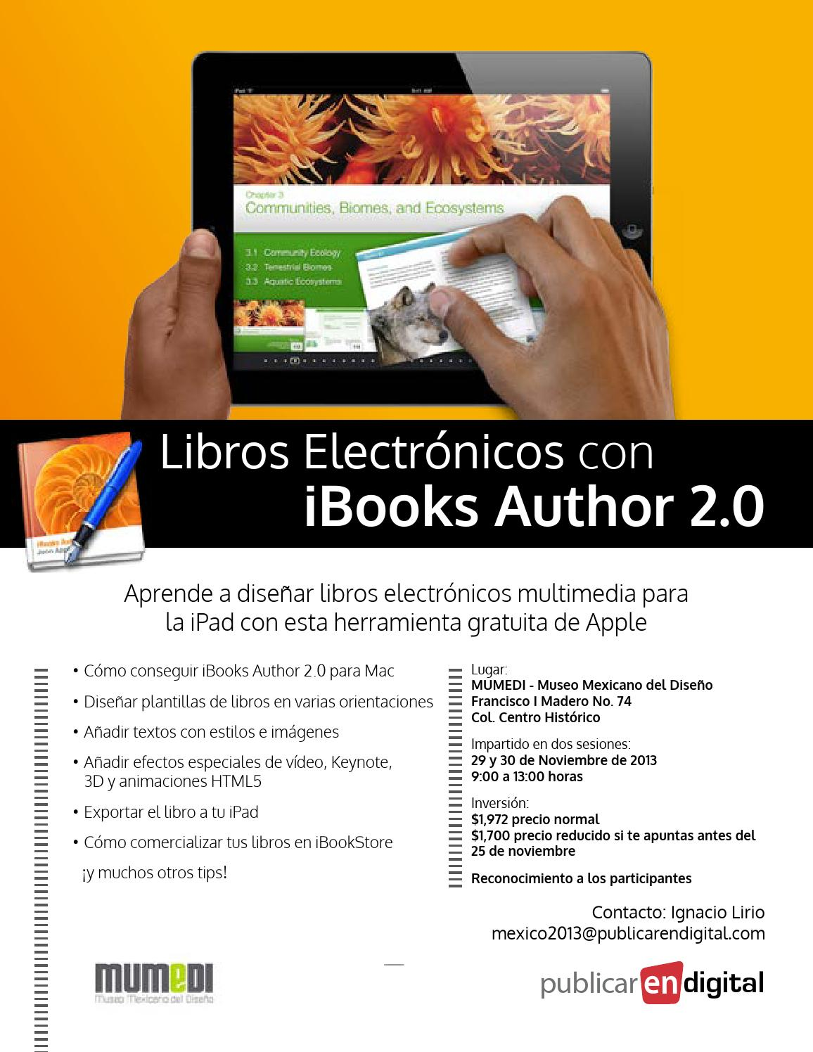 Curso iBooks Author en México by PUBLICAR EN DIGITAL - issuu