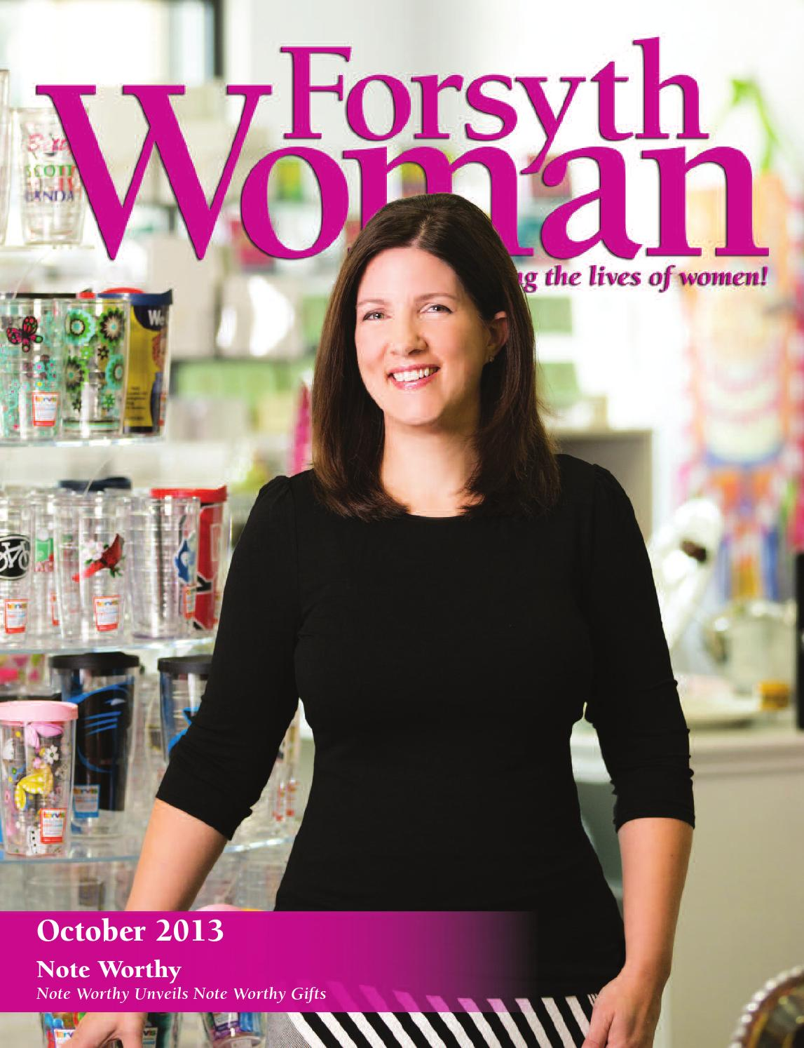 forsyth woman october 2013 by forsyth mags issuu