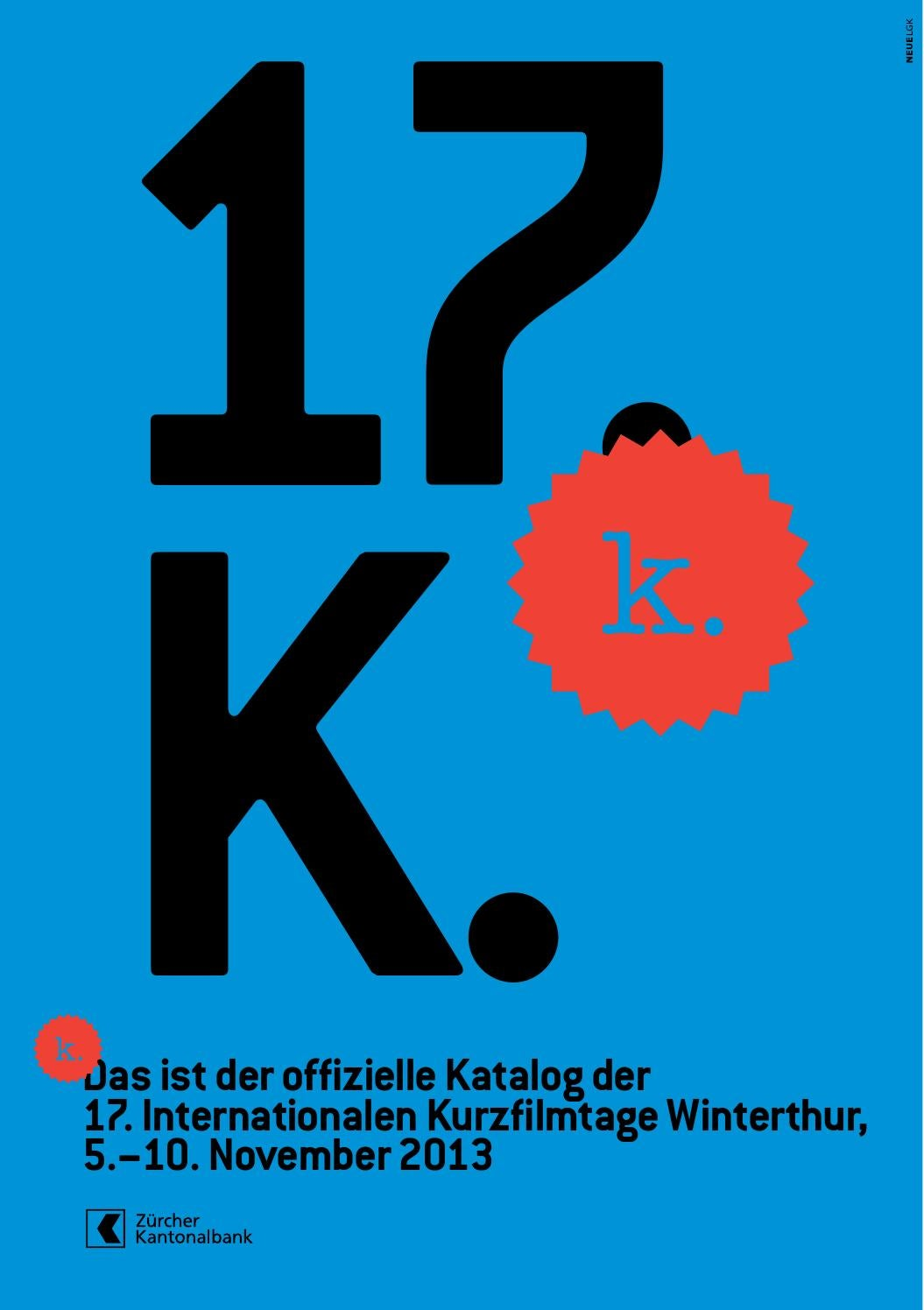 Katalog – 17. Internationale Kurzfilmtage Winterthur by Int ...