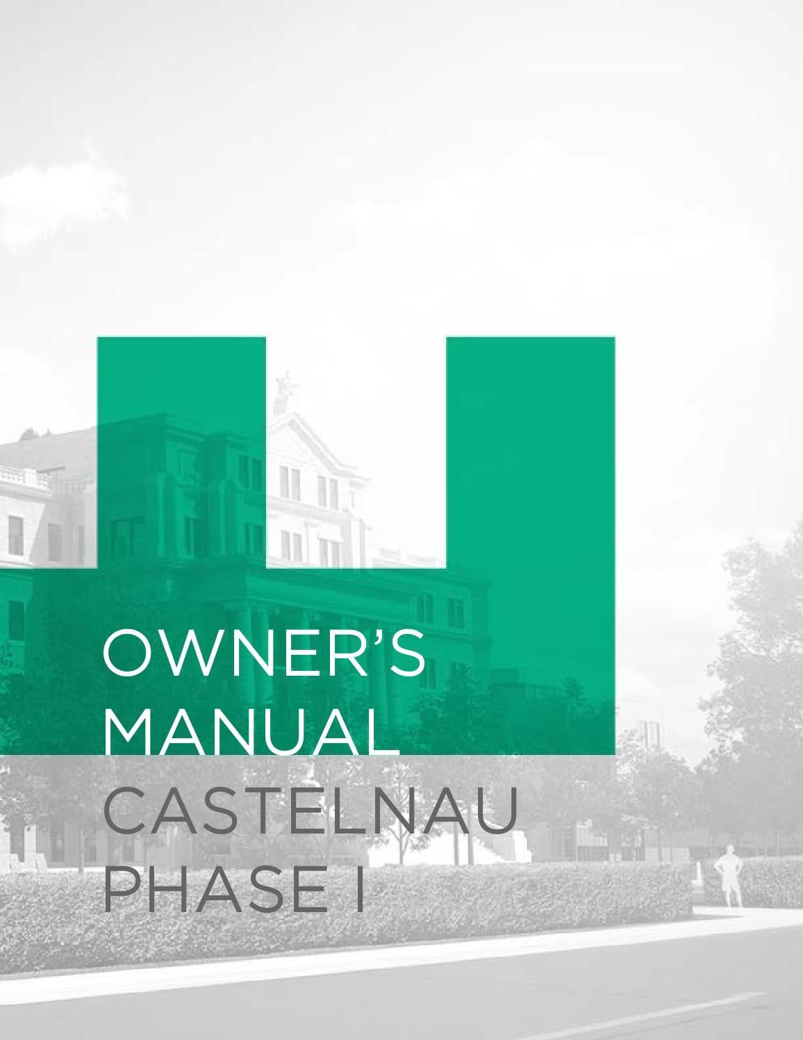 Castelnau Phase I Owners Manual By Devmcgill Issuu Parts Diagram For Gourmet Single Handle Kitchen Faucet 150 450