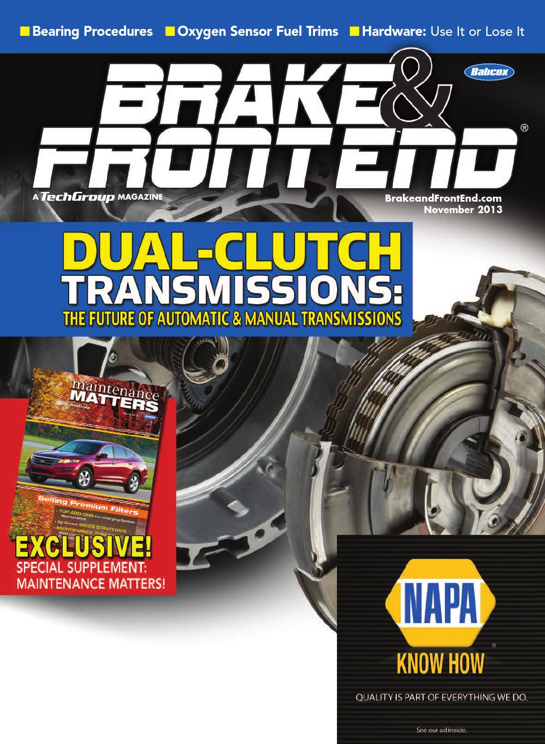 Brake & Front End, November 2013 by Babcox Media - issuu