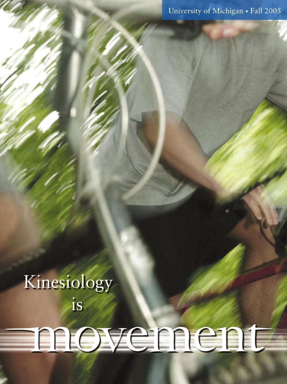 Movement Fall 2005 By University Of Michigan School Of Kinesiology