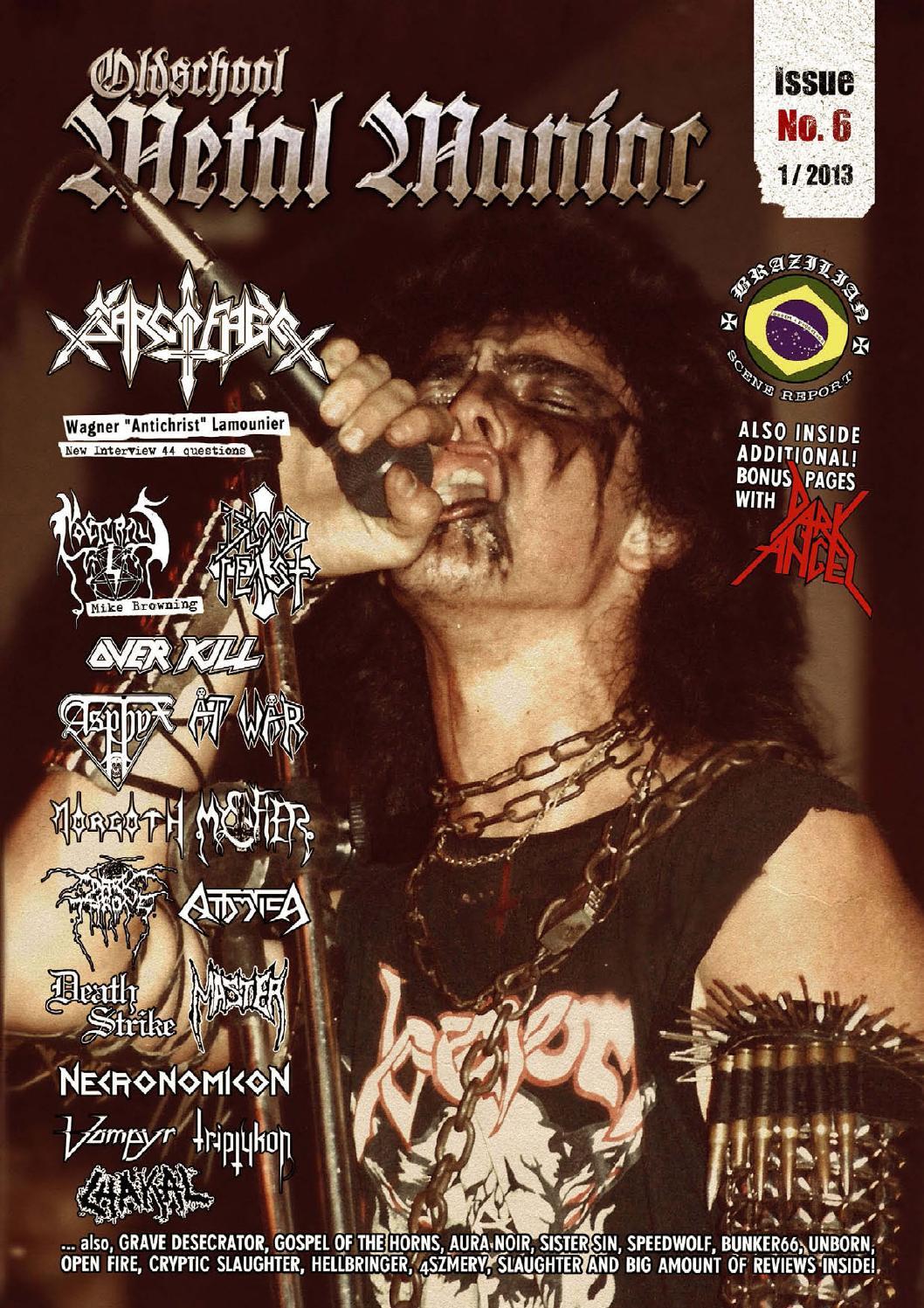 Oldschool Metal Maniac Magazine - Issue #6 by Oldschool