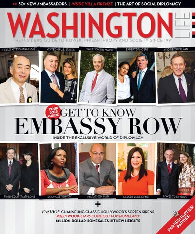 Washington Life Magazine October 2013 By Washington Life Magazine