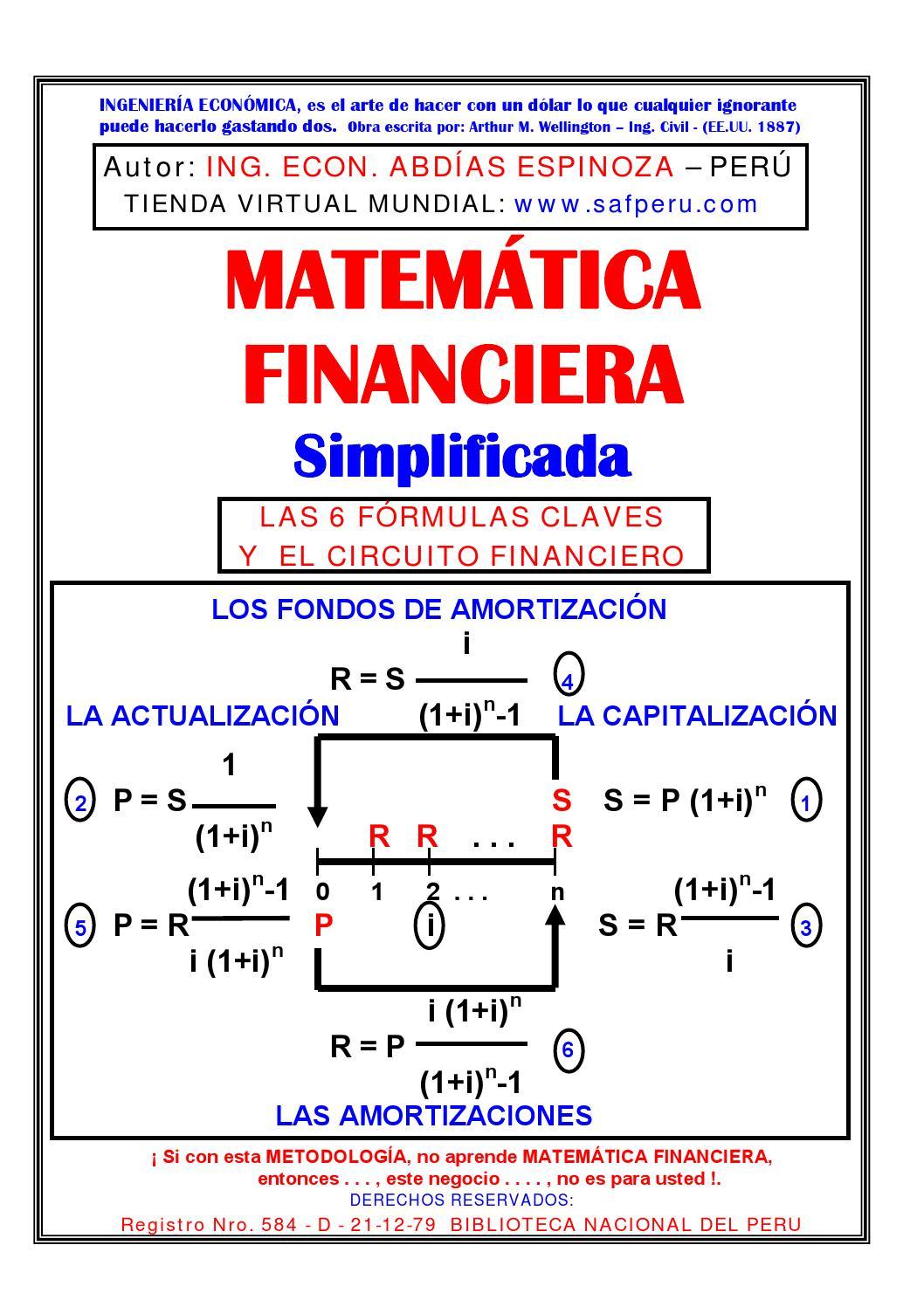 Fondos de amortizacion matematicas financieras