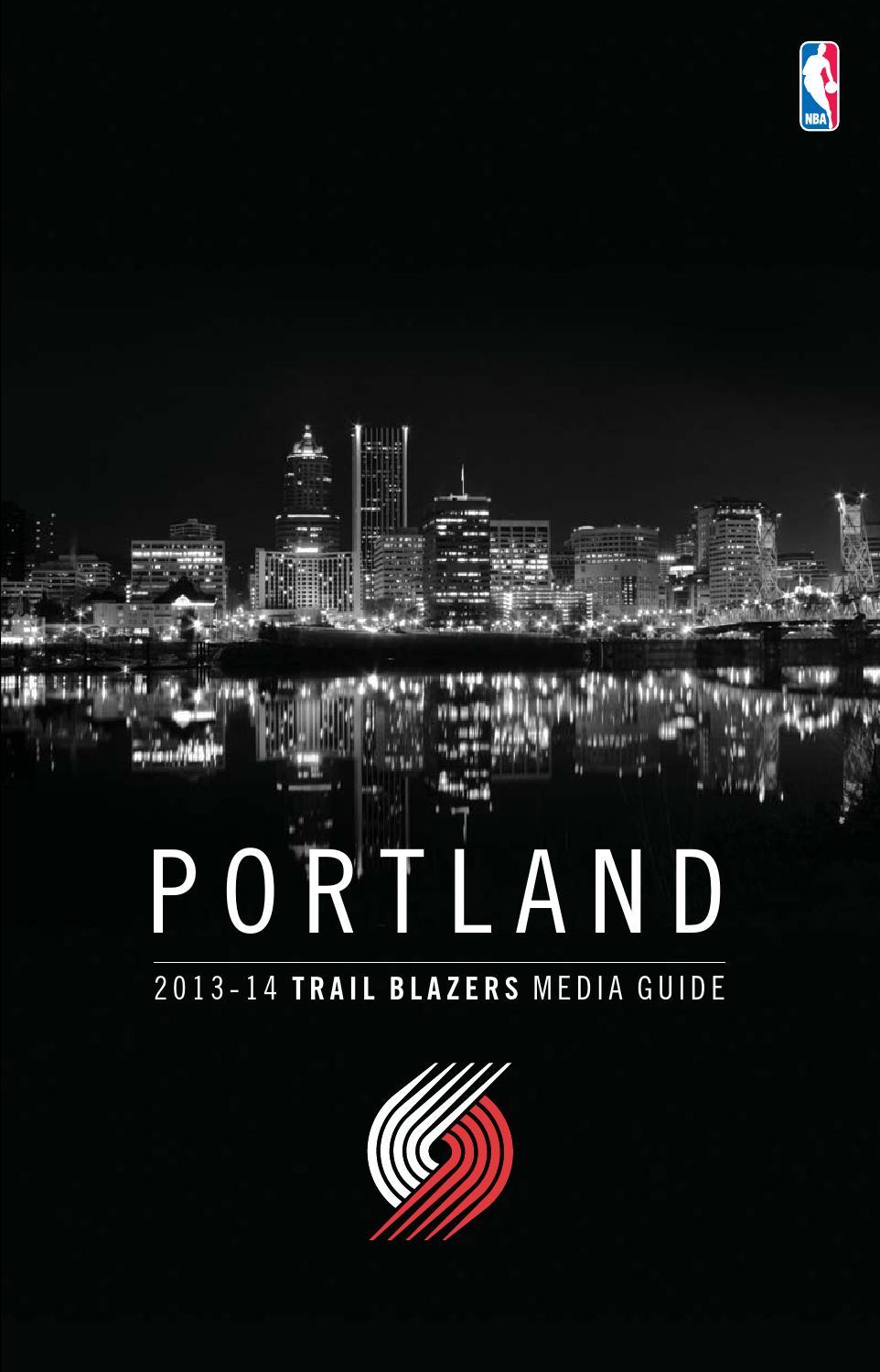 95e47f9faf3 2013 14 Portland Trail Blazers Media Guide by Portland Trail Blazers - issuu