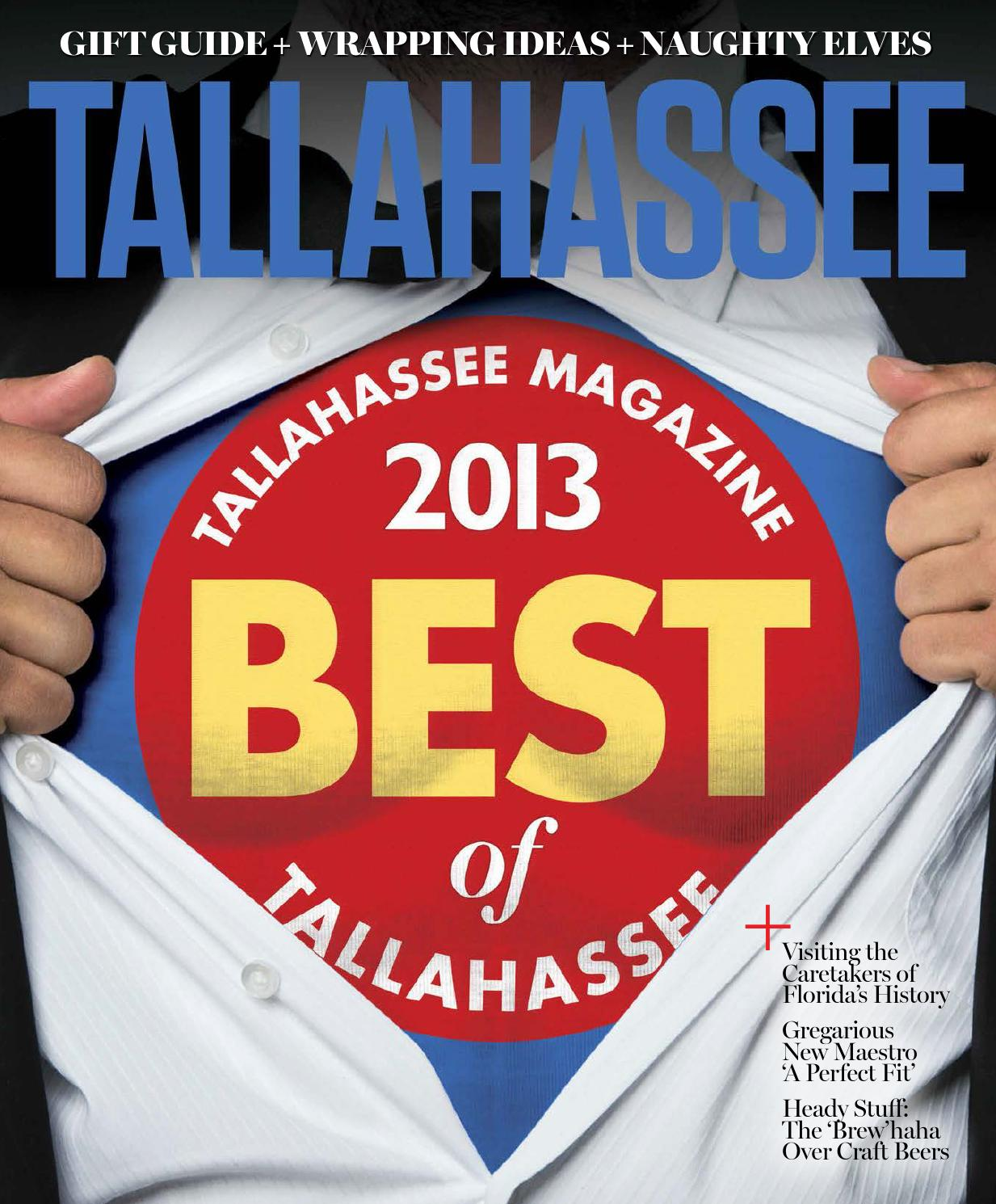 Tallahassee Magazine - November December 2013 by Rowland Publishing ... 534dc4ae70764