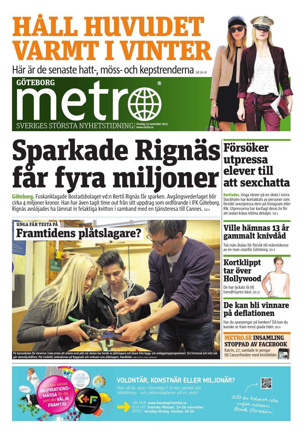 20131113 se goteborg by Metro Sweden - issuu 286aa57336b6e