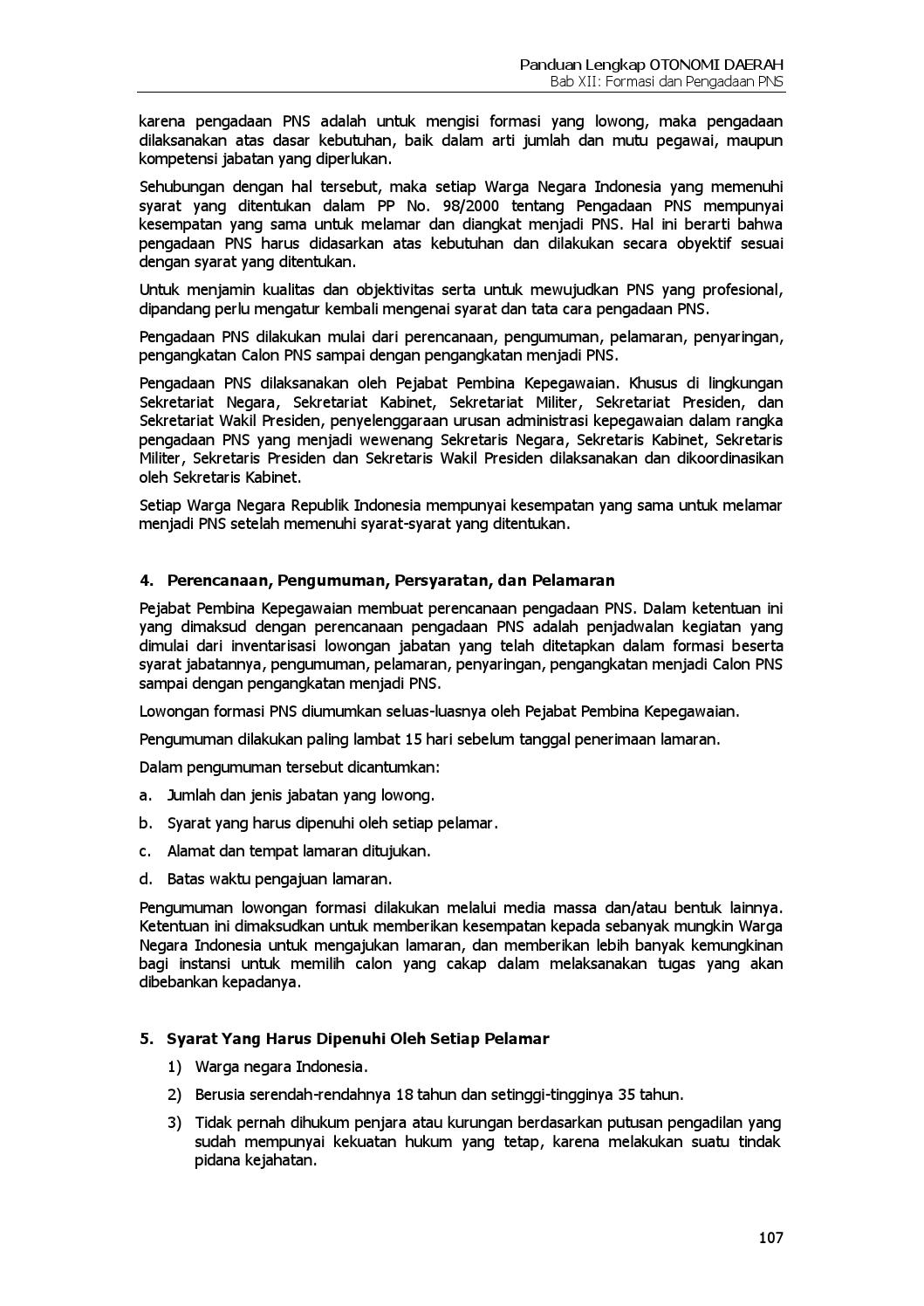 Page/125 >> Panduan Lengkap Otonomi Daerah By Dadang Solihin Issuu