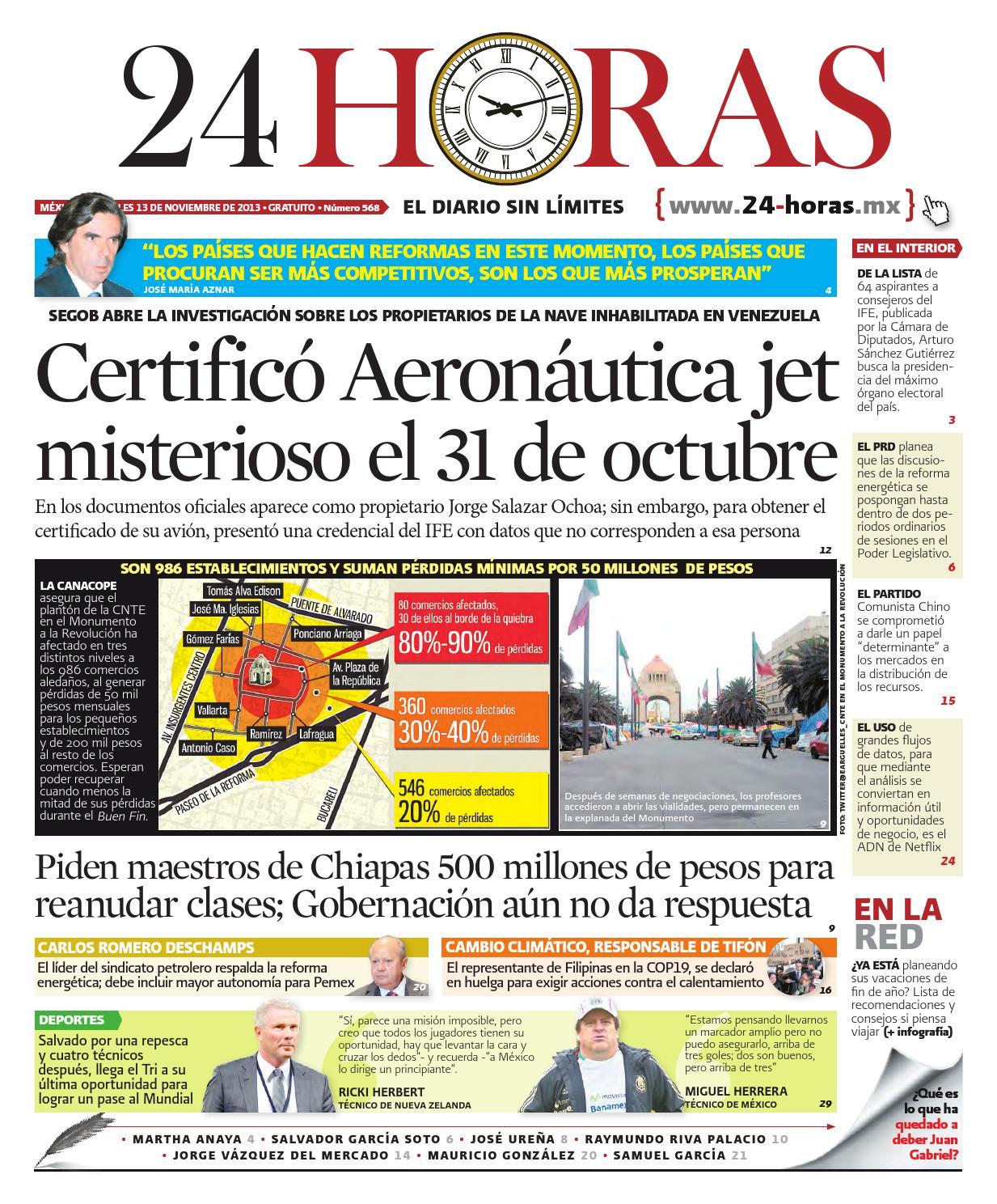 Noviembre | 13 | 2013 by Información Integral 24/7 SAPI de C.V. - issuu