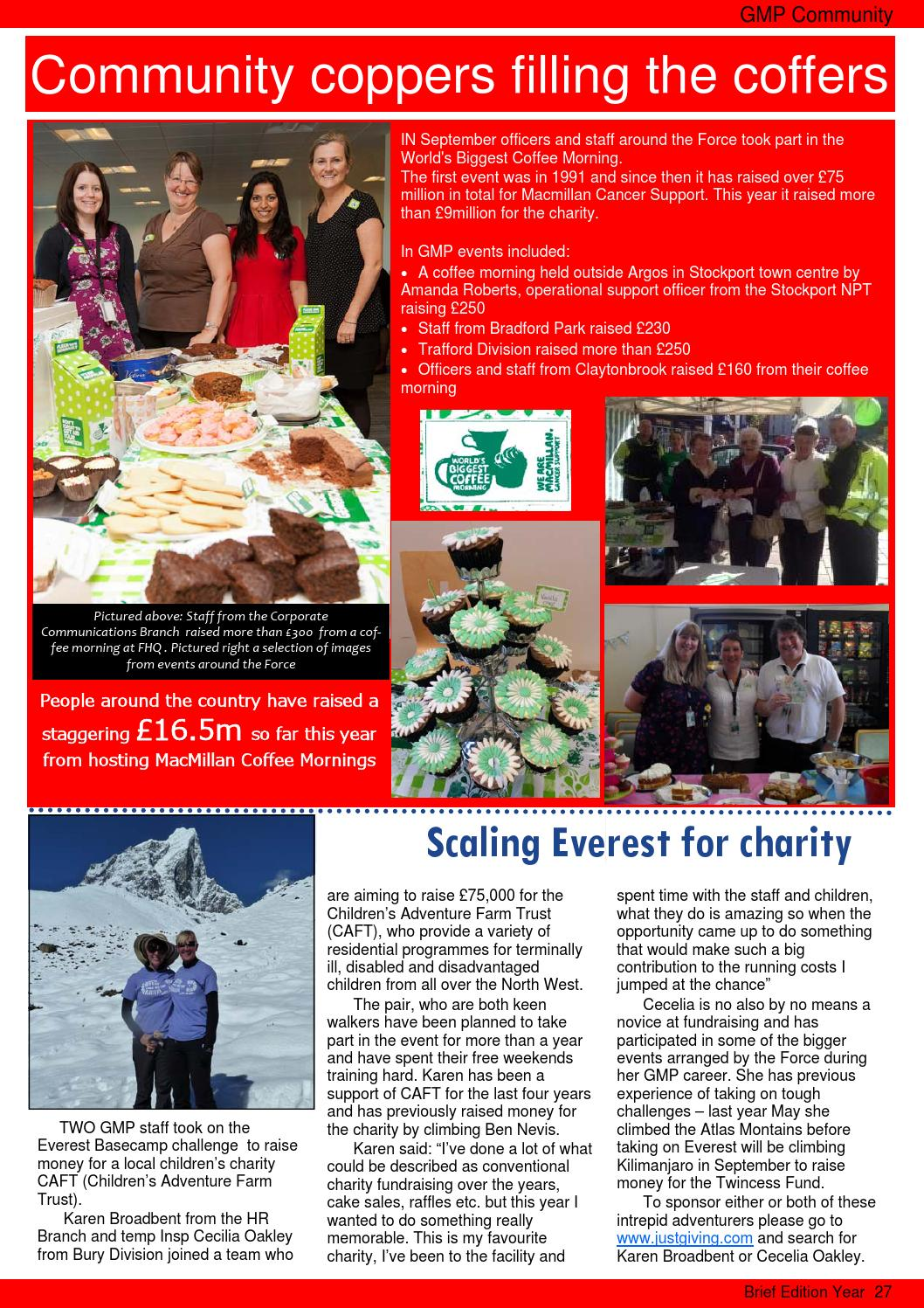 Brief Autumn 2013 Edition By Greater Manchester Police Issuu