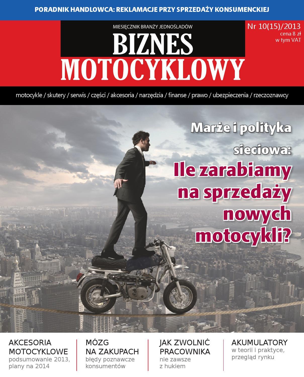 Biznes Motocyklowy Nr 10 15 2013 By Young Media Group