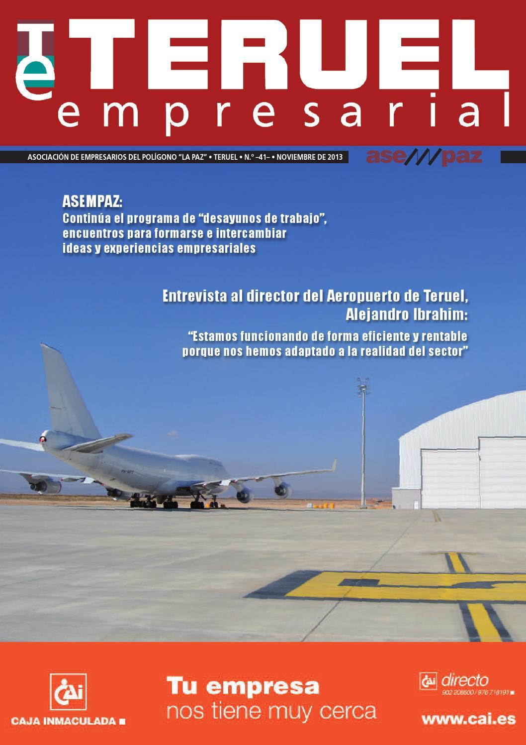 Teruel Empresarial N 41 By Asempaz Asoc De Empresarios Del  # Muebles Jover Teruel