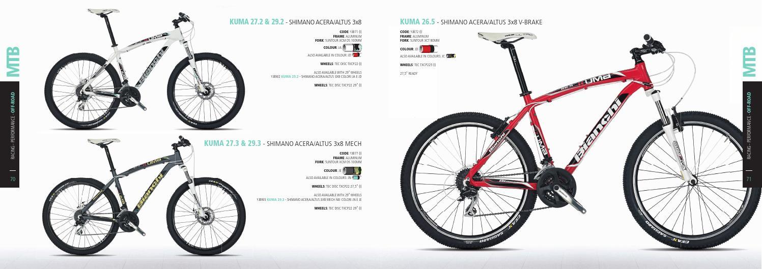 Bianchi bike catalogue 2014 by BIANCHISUISSE CH - issuu