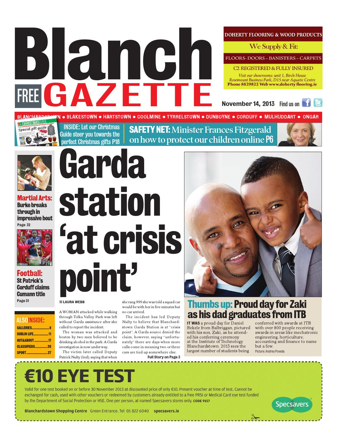 e86574bfce7a3 Blanch by Dublin Gazette - issuu
