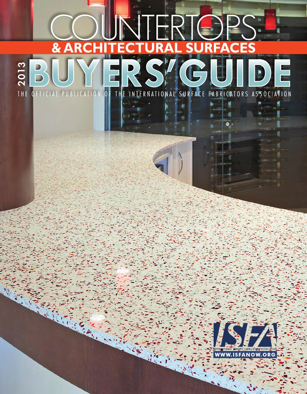 ISFA Countertops & Architectural Surfaces 2013 Buyers' Guide by ...