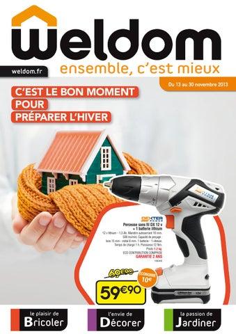 Catalogue Weldom - 13-30.11.2013 by joe monroe - issuu