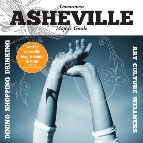 Asheville Map and Guide by John C. Tripp - issuu on