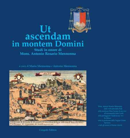 ut ascendam in montem domini by Opere di Mons. R.A. Mennonna - issuu 534538490e7e
