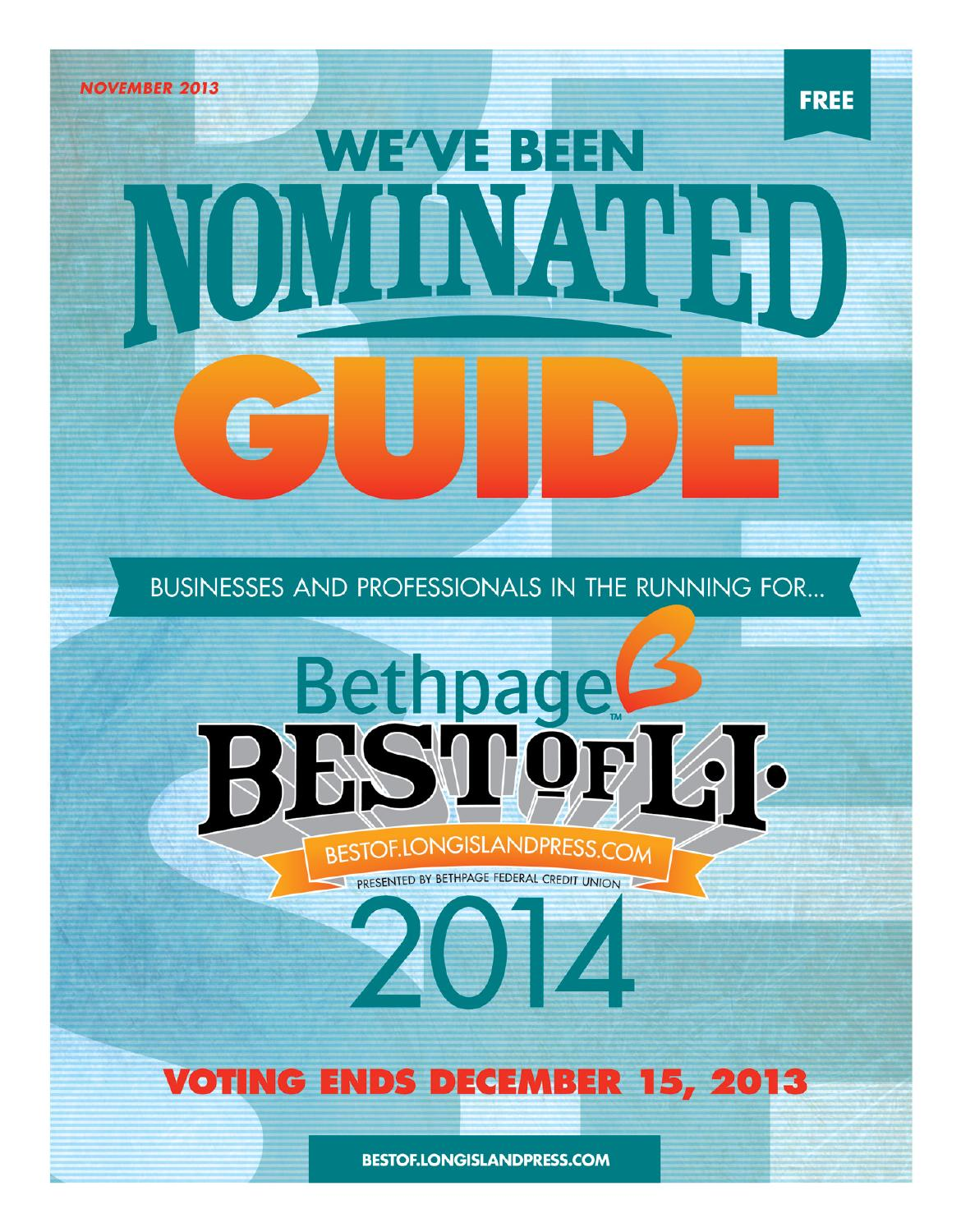 Bethpage Best of L.I. 2014 \