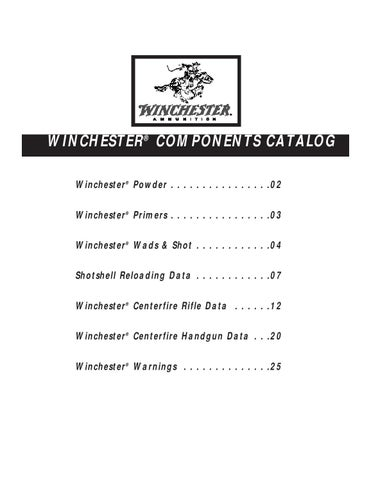 Winchester 99 by Albert Brizendine - issuu