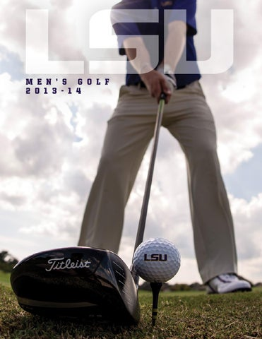 2013-14 LSU Men's Golf Guide